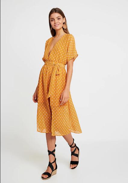 polka dot midi dress Glamorous - Shoppics.com