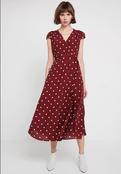 polka dot midi dress Ivy & Oak - Shoppics.com