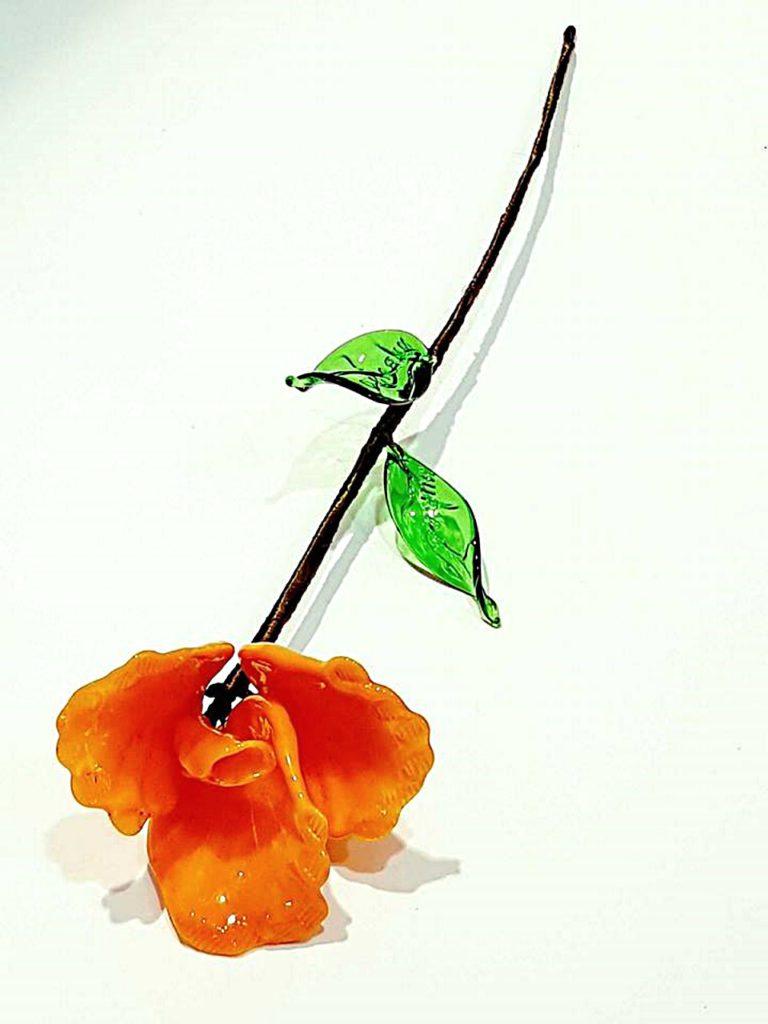 Fiore di vetro di Murano - Shoppics.com