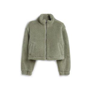 Giacca sherpa verde Primark - Shoppics.com