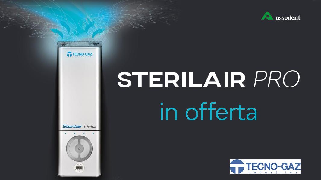 Respira sicuro con SterilAir Pro