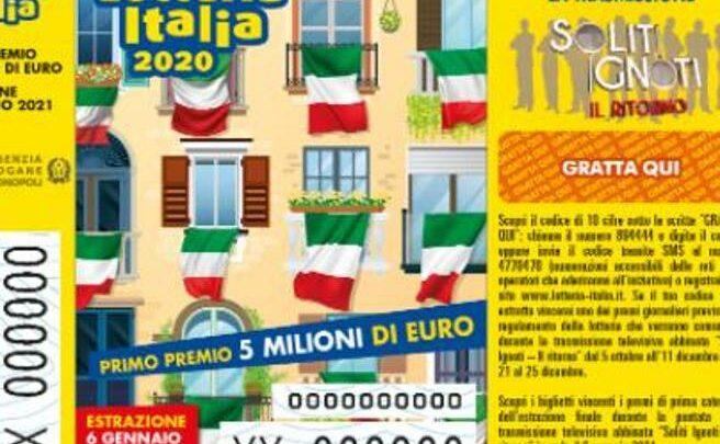 Comprare biglietto della lotteria online